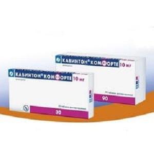 кавинтон комфорте таблетки диспергируемые