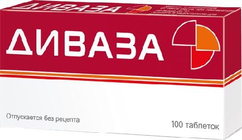 диваза таблетки