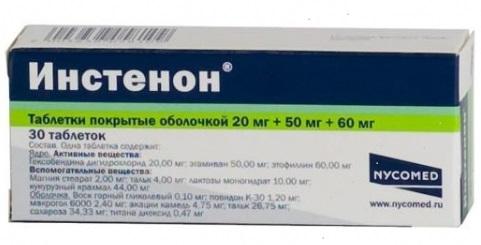 инстенон таблетки